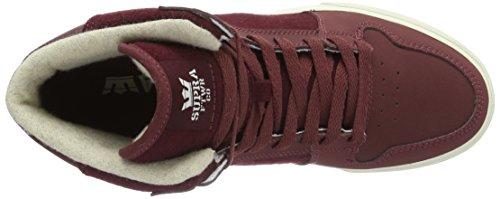 Burgundy Sneaker 2 LC Supra White Vaider wAg6qF