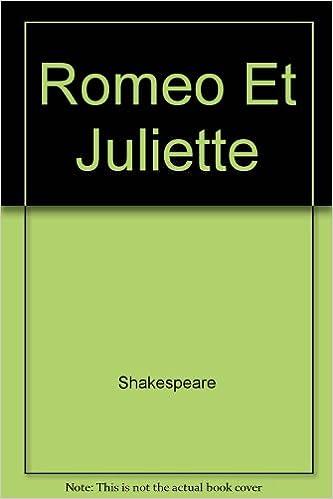 Livres gratuits en ligne Roméo et Juliette pdf ebook