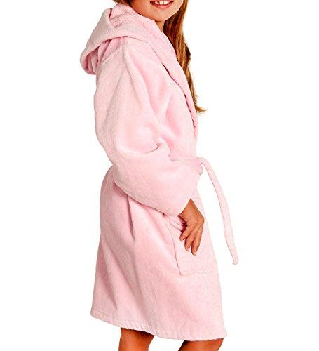Hooded Velour Turkish Bathrobe Cotton
