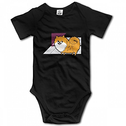 TO-TEIU Pomeranians Poms Not Bombs Baby Climbing Clothes Bodysuit