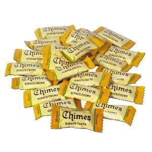 Peppermint Ginger Chews - Chimes Mango Ginger Chews, 1lb Bag