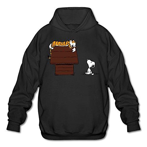 pooz-mens-calvin-and-hobbes-tiger-hoodies-black-size-m
