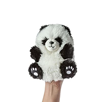 Manhattan Toy Fuzzy Loves Panda Hand Puppet Plush: Toys & Games