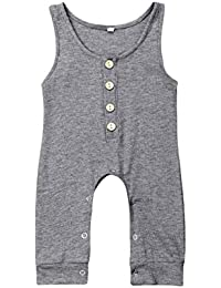 23bf85d55 Baby Girl's One Piece Rompers | Amazon.com