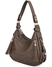 UTO Women's Synthetic Hobo Stylehoulder Bag One Size Khaki