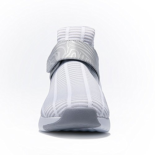 Onemix Da Bianco Uomo Running Air Corsa Fitness Interior Sportive All'aperto Casual Sneakers Unisex Donna Ginnastica Grigio Scarpe ZrYwtrCq