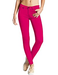 Womens Ultra Stretch Comfy Skinny Pants
