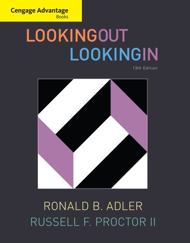 Looking Out Looking In, 13th Edition by Cengage Learning