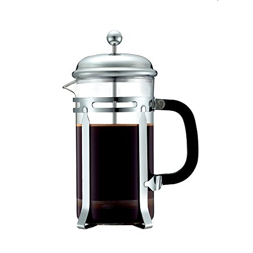 Bodum Pour Over Coffee Maker Directions : Savage Durable Coffee & Espresso Maker with Stainless Steel Plunger & Heat Resistant Glass ...