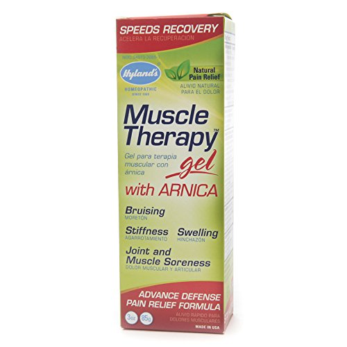 (Hyland's Muscle Therapy Gel with Arnica, Natural Joint and Muscle Soreness Advanced Defense Pain Relief Formula, 3 Ounce ( pack of 6)