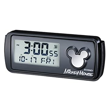 NAPOLEX wd-159 coche Mounts Mickey Mouse Inalámbrico Digital Reloj Con Luz Led: Amazon.es: Coche y moto