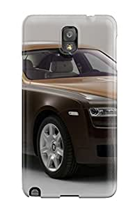 Awesome Rolls Royce Ghost 2 Flip Case With Fashion Design For Galaxy Note 3