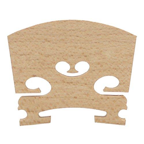 MonkeyJack Portable Replacement Maple Violin Bridge Musical Instrument Accessory 1/8 Violin Parts