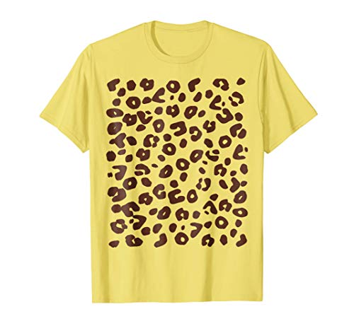 (Cheetah Print Great & Simple Costume Halloween Cheap)