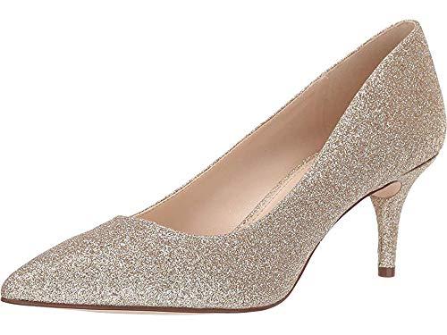NINE WEST Margie Pump Gold 7.5 (Nine West Gold Shoes)
