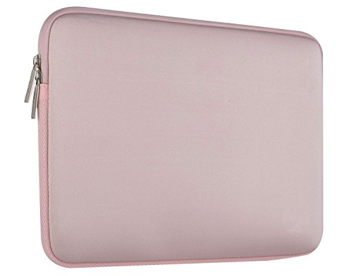 Touch Pink Leather Sleeve (Laptop Sleeve - JOKHANG 13 13.3 Inch Notebook Computer Sleeve Case Neoprene Water resistant Briefcase Carrying Bag for Macbook or More - Baby Pink)