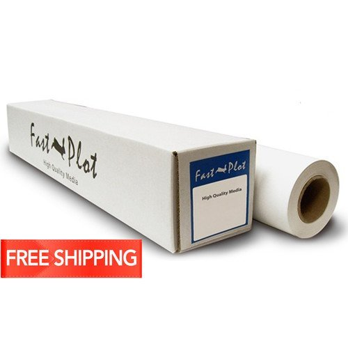 *New* Longer Roll Now 100'- FastPlot Self Adhesive Vinyl Waterproof 4 mil / 100g - 42'' x 100Ft - 2'' cor by FastPlot