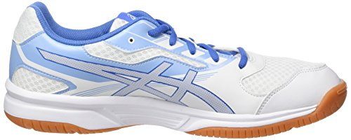 Asics 2 Upcourt Blanco 0140 Blue white Zapatos regatta airly Mujer Blue Para De Voleibol UrUBwpCqT