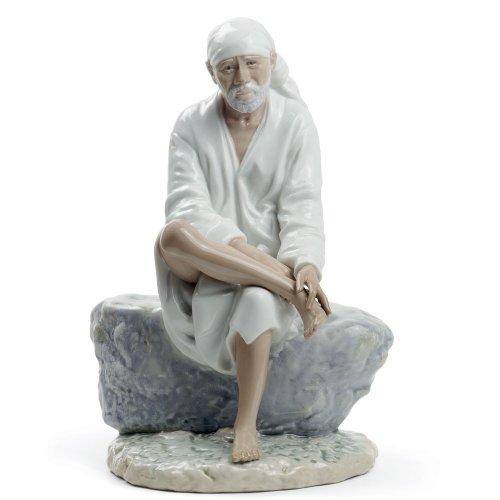 Lladro Sai Baba Figure by Lladro