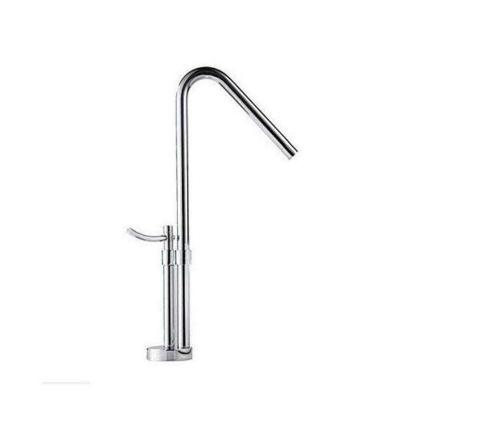 Faucets Basin Mixersolid Brass Kitchen Sink Tap Swivel Spout Hot and Cold Sink Mixer