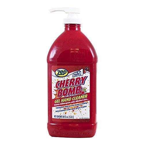 Zep Cherry Bomb Hand Cleaner (Ca) 48 Ounce ZUCBHC48CA (Case of 4) by Zep (Image #5)