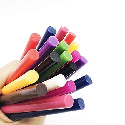 Lepakshi 10Pc Color Glue Sticks for Small Electric Glue Gun Craft Album Repair D