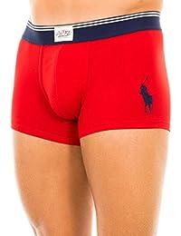 Polo Ralph Lauren Classic Pouch Trunk (Boxer Short) Rl 2000 Red Plain Band XL (12)