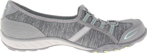 Skechers Sport Womens Good Life Fashion Sneaker Grigio / Aqua