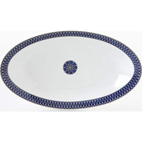 Royal Limoges Blue Star Relish