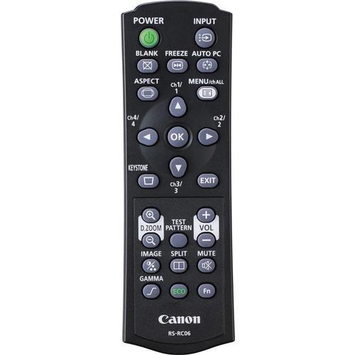 Canon RS-RC06 Remote Controller for WUX450/D, WUX400ST/D, WX520/D, WX450ST/D Projectors
