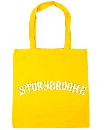 HippoWarehouse Storybrooke Tote Compras Bolsa de playa 42cm x38cm, 10litros amarillo