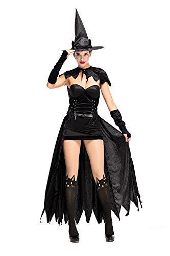 Donne Di Scary Halloween Partito Joygown Di Del Fantasia Delle Costume Gatto Vestire Nero pTqrUzp