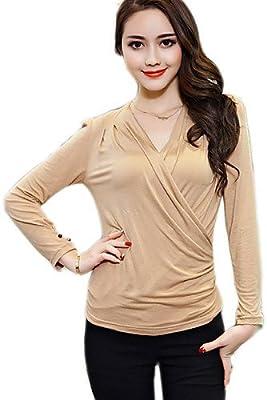 Camisas y camisetas mujer chicaDe las mujeres Camiseta-Peplum ...