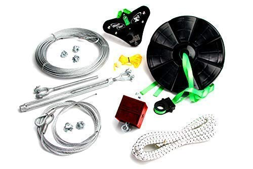 Alien Flier X3-100 Backyard Zip Line Kit -
