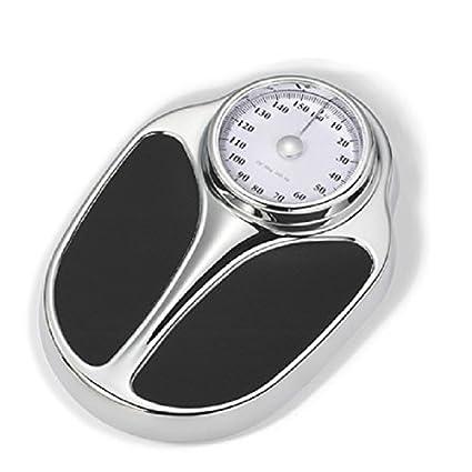 FuweiEncore Básculas Básculas de Peso Corporal Balanzas precisas Básculas de pesaje Persona Mecánica Profesional Precisa Negro