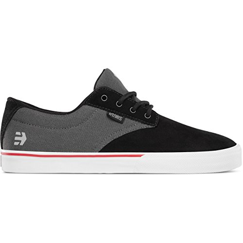 Etnies  Men's Jameson Vulc Black/Dark Grey/Silver Athletic Shoe
