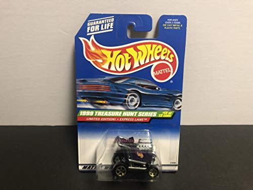 EXPRESS LANE Shopping Cart Hot Wheels 1999 TREASURE HUNT Limited Edition (12 of 12) with protector case -