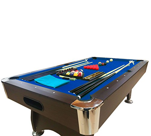 Billiard pool table 7 feet snooker full set accessories game mod blue sea welcome to poker - Billiard table accessories ...