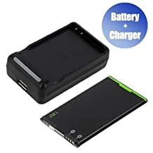 Battpit™ New Replacement Mobile / SmartPhone / Cell Phone Battery + Charger (With USB Output) for BlackBerry BlackBerry Bold 9900 (1200 mAh) (Ship From Canada)
