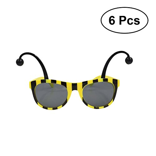 BESTOYARD 6PCS Gafas de Sol de la Abeja Cosplay Eyeglasses ...