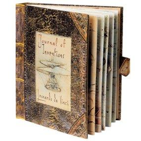 Journal of Inventions: Leonardo da Vinci Pop-Up Book
