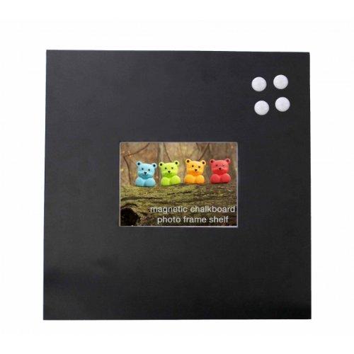 Streamline Magnetic Chalkboard & Picture Holder