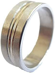 Steel Ring for men color Silver Item No 1164 - 24 - 3