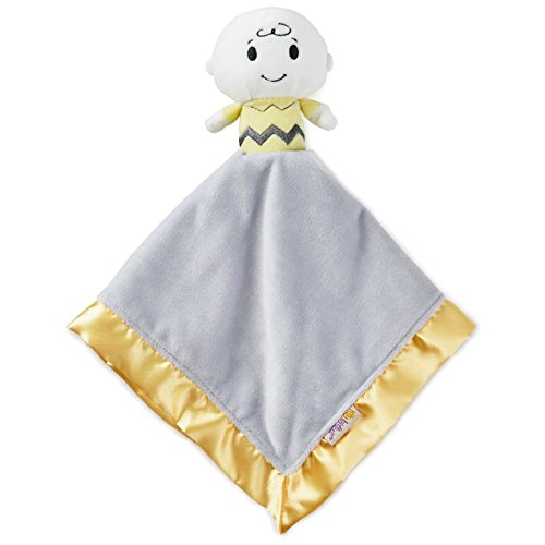 Hallmark itty bittys Peanuts Charlie Brown Buddy Blanket Baby & Toddler Toys Movies & TV -