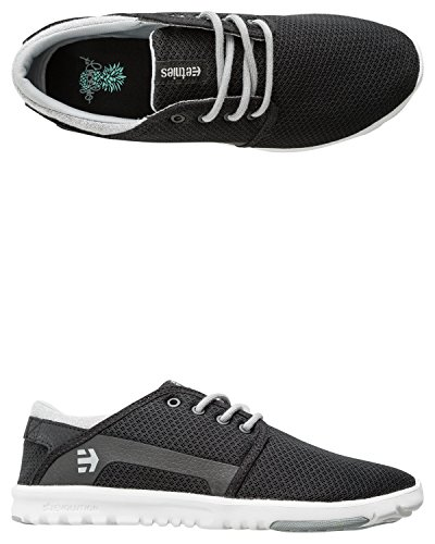 Scout white Zapatillas grey Etnies mujer Black para 6vxdPq
