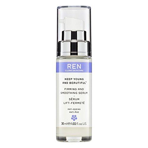 Ren若くて美しいの引き締めを維持し、血清30ミリリットルを平滑化 (REN) - REN Keep Young and Beautiful Firming and Smoothing Serum 30ml [並行輸入品] B01M9JMUQQ