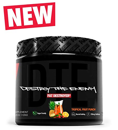 Run Everything Labs | DTE | Destroy The Enemy | Fat Destroyer Powder (Tropical Fruit Punch)
