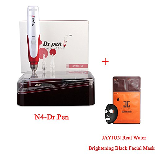 Price comparison product image Miss Ammy Professional Wireless Electric Auto N4-Dr.pen &1pc JAYJUN Real Water Brightening Black Facial Mask ,Permanent Makeup Tattoo PenMTS Beauty SPA Pen