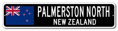 New Zealand Flag Sign - PALMERSTON NORTH, NEW ZEALAND - Kiwi Custom Flag Sign - 9
