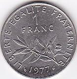 1977 France Franc Coin